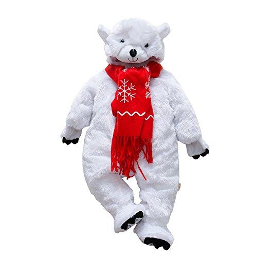 DAYU Unisex Baby's Polar Bear Costume -