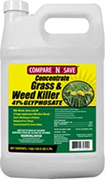 Compare-N-Save 41-Percent Glyphosate, 1-Gallon, White Weed Killer