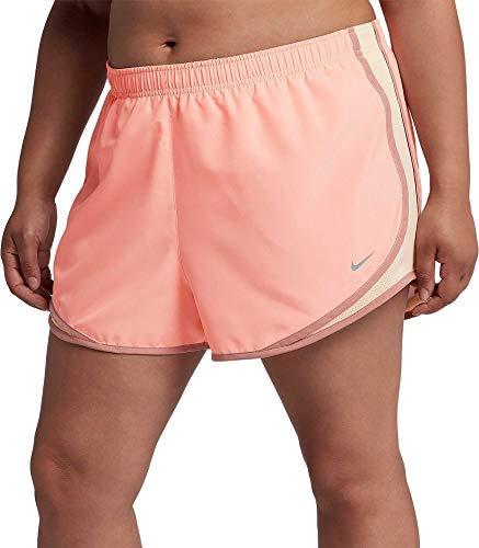 Nike Women's Plus Size Dry 3'' Tempo Running Shorts (3X, St Pk/GIc/Rpk/Wg)