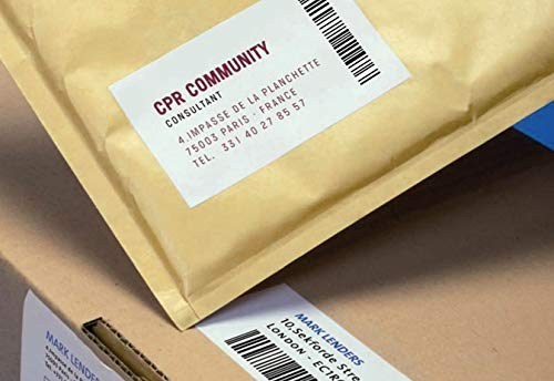 Amazon.com : APLI 011787 100 Extra-Strong Adhesive Labels ...