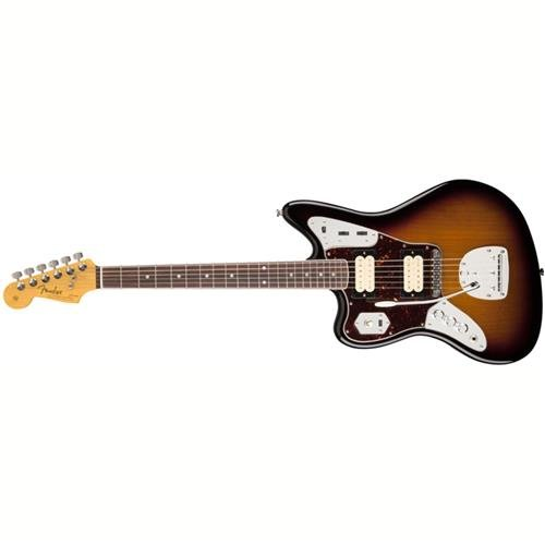 Fender Kurt Cobain Jaguar LH NOS 3 Tone Sunburst Solid-Body Electric Guitar
