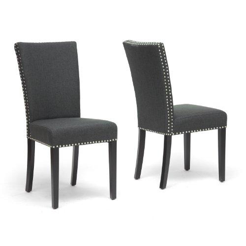 harrowgate linen modern dining chair