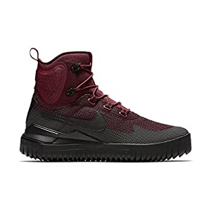 Nike Mens Air Wild Mid Boots Dark Team Red/Black/Port Wine 916819-600 Size 11