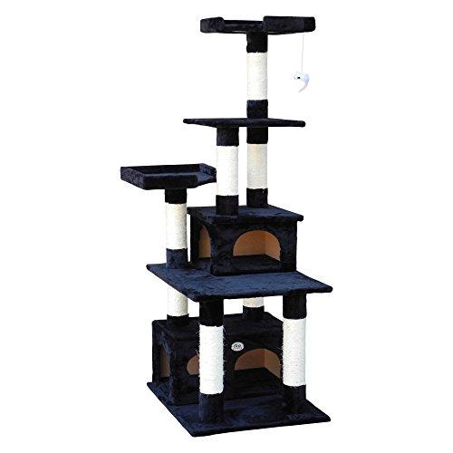 Go Pet Club F206 Cat Tree Condo Scratcher Post Pet Bed Furniture