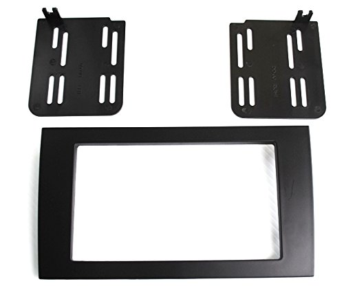 Aftermarket Radio Stereo Installation Double Din Dash Kit Mount Trim Bezel for Select Audi A4 and RS4 Models