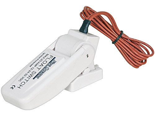 Marine Boat Automatic Float Switch 20 Amp 12v -32v for Bilge Pump – Five Oceans BC-3610 by Seaflo primary