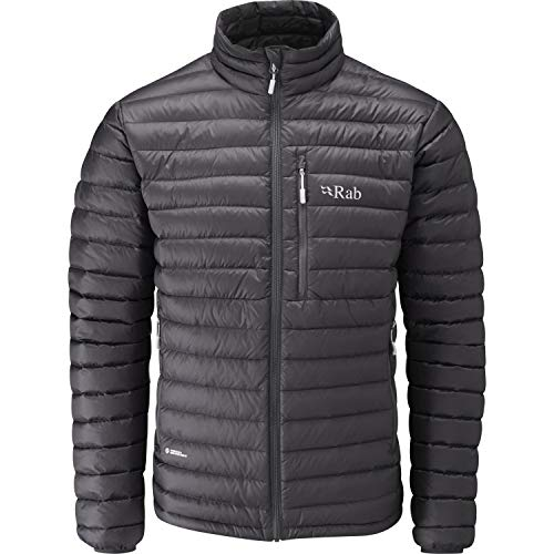 Mens Microlight Jacket - RAB Microlight Jacket - Men's Beulga/Squash Small
