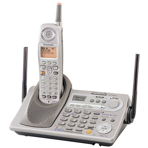 Panasonic KX-TG5240M GigaRange Supreme 5.8 GHz DSS Expandable Cordless Phone with Answering System
