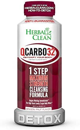 Qcarbo32 Herbal Clean Supplement Detoxify product image