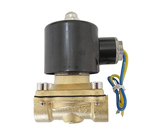 1//2 Inch 12V DC VDC Brass Solenoid Valve NPS Gas Water Air Normally Closed XSPANDER