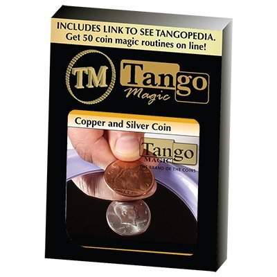 Copper & Silver - US Half Dollar with English Penny - Tango
