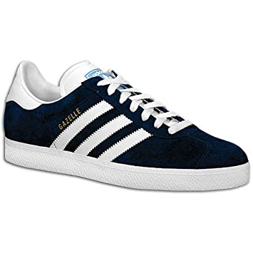 f59be7fca Adidas Men's Gazelle II (sz. 09.5, Navy/White/Columbia Blue): Buy Online at Low  Prices in India - Amazon.in