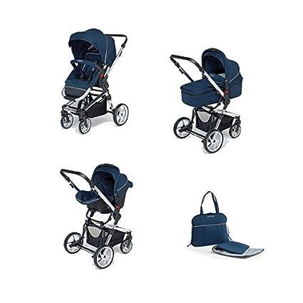Foppapedretti Tres Chic - Cochecito, 3 piezas, color azul marino ...