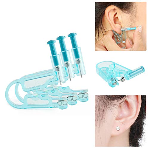 Tattoo Accesories Intelligent 100% Brand New Easy To Use Sterile Safety Body Ear Nose Lip Piercing Gun Kit Tool Stud Prep Pad Ample Supply And Prompt Delivery Tattoo & Body Art
