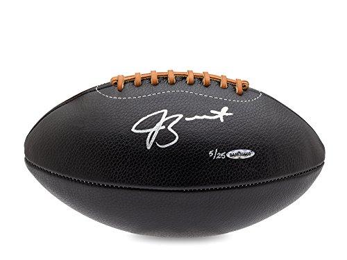 Jameis Winston Autographed Black Leather Head Football, L-25, UDA