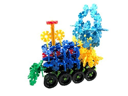 Shawe Building Blocks Kids Educational Toys STEM Toys Building Discs Sets Interl