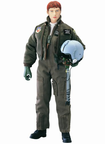 None Elite Force: F-15A Female Pilot Burner 12