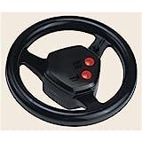 Rolly Toys Spielzeug Lenkrad rollySoundwheel mit Hupe und Motorgeräusch, passend für alle Rolly Toys Traktoren, schwarz, 409235