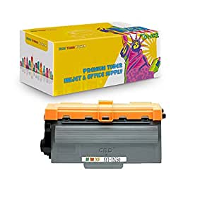 New York Toner Brother TN750 Compatible Toner Cartridge for use with Brother DCP-8110DN, DCP-8150DN, DCP-8155DN, HL-5440D, HL-5450DN, HL-5470DW, HL-5470DWT, HL-6180DW, HL-6180DWT, MFC-8510DN- Black