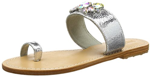 Mystique 6307 Mystique Ss16 - Sandalias Mujer Silber (natural Sole silver-AB)