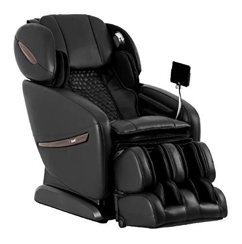 OSAKI OS-Pro ALPINA Electric Full Body Massage Chair, SL Track Roller Design, Foot roller, 12 Unique Auto-programs, Touch Screen Controller (Black)