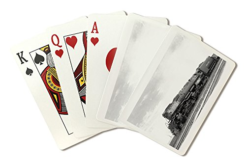 Union Pacific Train in Motion (Playing Card Deck - 52 Card Poker Size with Jokers)