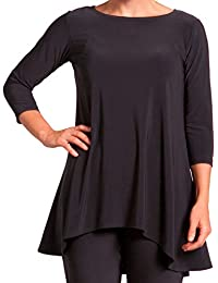Sympli Womens True-T 3/4 Sleeves