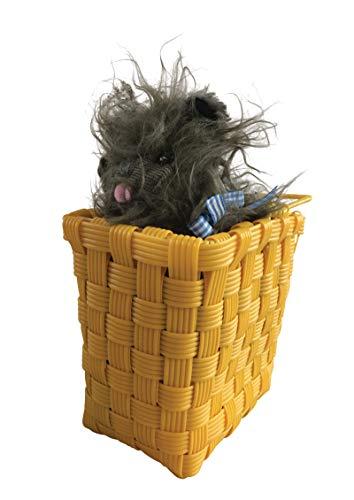 511 Toto in Basket Wizard of Oz Plastic Weave -