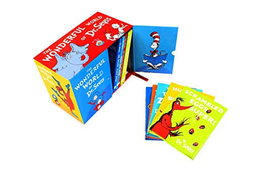 The Wonderful World of Dr. Seuss 20 Reading Books Collection Gift Box Set Hardcover – Box set, January 1, 2008