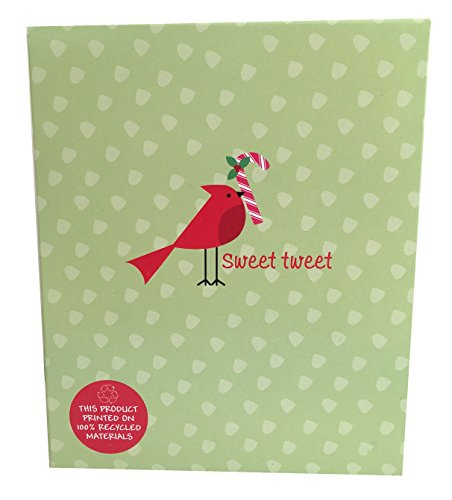The Gift Wrap Company Recycled Paper Boxed Christmas Cards, Sweet (Candy Gifts Boxed)