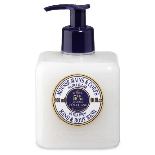 L'Occitane Shea Butter Ultra Rich Hands & Body Wash, 10.1 fl. oz.