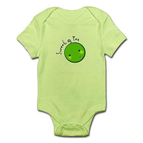 CafePress - Sweet Pea Infant Creeper - Cute Infant Bodysuit Baby Romper