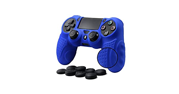 Amazon.com: CHINFAI PS4 Controller DualShock 4 Skin Grip ...