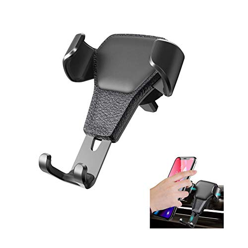 - Ebow Air Vent Phone Holder Gravity Reaction Car Mobile Phone Holder Clip Type Air Vent Monut for All GPS Smart Phone (Black)