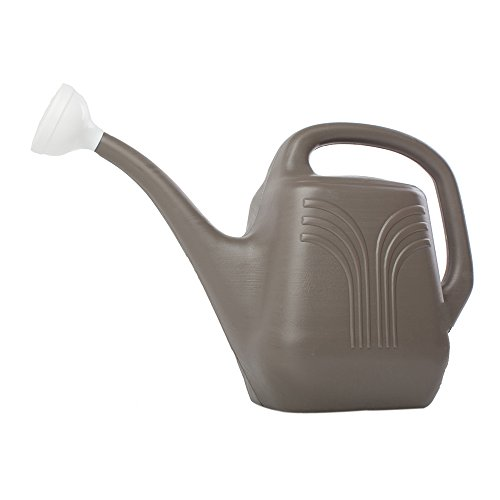 Bloem Living JW8260-12 12-Pack Watering Can, 2-Gallon, Peppercorn by Bloem