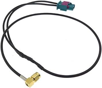Adaptador de Antena para Coche con GPS (Doble Fakra F, SMA M ...
