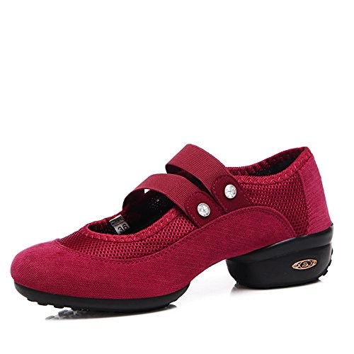 Sneaker Da Ballo Slip-on Da Donna Yuanli Womens Rosso