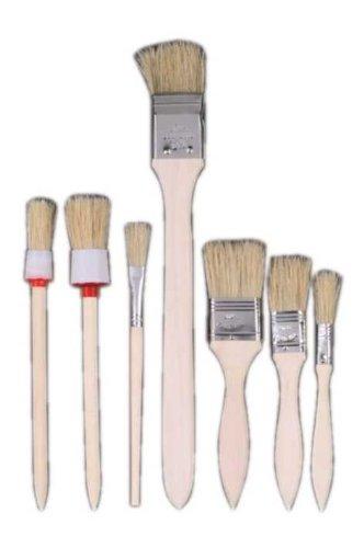 7 piè ces pinceau de bague Pinceau/pinceau rond/pinceau pour radiateur Work It
