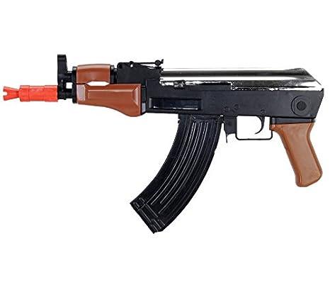 Amazon Com Ak 47 Spetsnaz Tactical Spring Airsoft Rifle Sniper Gun