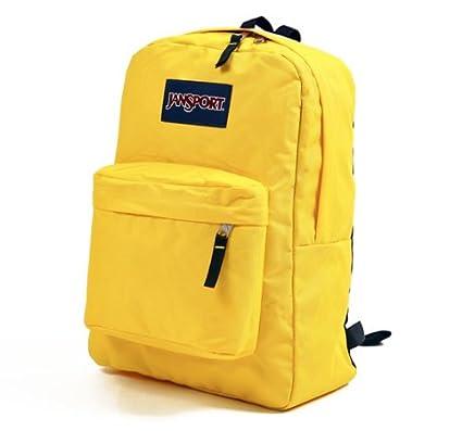 Amazon.com: JANSPORT SUPERBREAK BACKPACK SCHOOL BAG - Racer Yellow ...