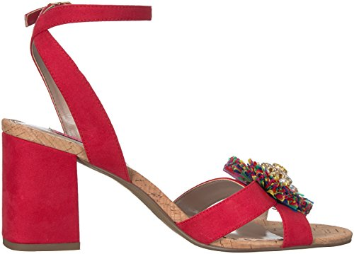 outlet ebay Betsey Johnson Women's Asha Heeled Sandal Red/Multi low price online shop offer sale online b4rcnG3