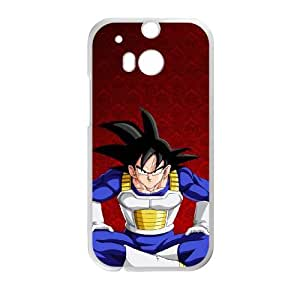 goku in room HTC One M8 Cell Phone Case White Customize Toy zhm004-7392545