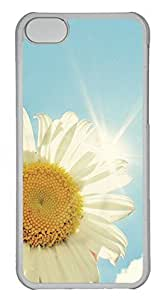 iPhone 5C Case PC Customized Unique Print Design Sunflower 6 iPhone 5C Cases
