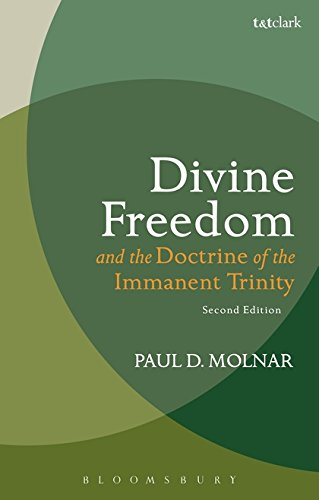 Download Divine Freedom and the Doctrine of the Immanent Trinity: In Dialogue with Karl Barth and Contemporary Theology (T&T Clark Studies in Systematic Theology) pdf epub
