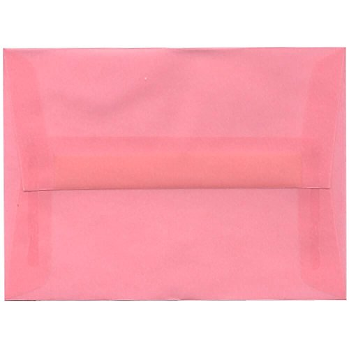 Blush Vellum (JAM Paper A6 Invitation Envelope - 4 3/4