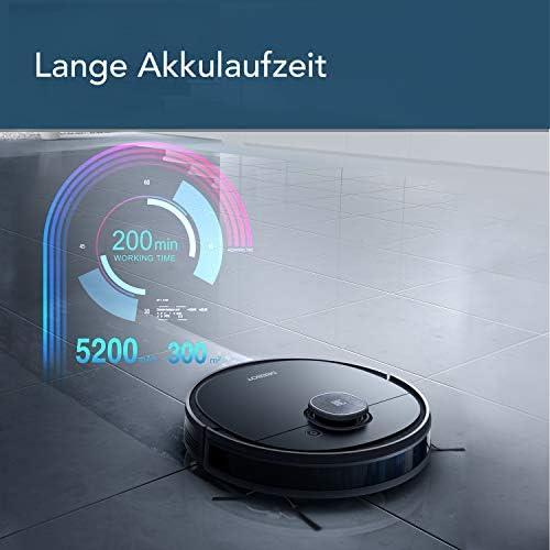 Ecovacs DEEBOT OZMO 950, Robot aspirateur, Noir, 40 W, 66 décibeles - Home Robots