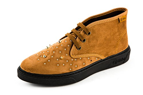 donna marrone World Natural Marrone 36 stringate Scarpe wOtOqxzA