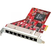 COMTROL CORP PCIE 8PORT RS-232/422/485 EXPRESS /8 x RJ-11 RS-232/422/485 Serial PCI Express x1 / 31310-6 /