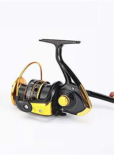 HITSAN INCORPORATION Catch.U Fishing Reel EF 1000-7000 Fake Bait 5.2:1 13BB Spinning Reel Fishing Reels Saltwater Fishing Reels Color Black Gold Bearing Quantity 13 Spool Capacity 6000 Series