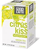 Good Earth Citrus Kiss Decaffeinated Green Tea, 18 bags (Pack of 3)